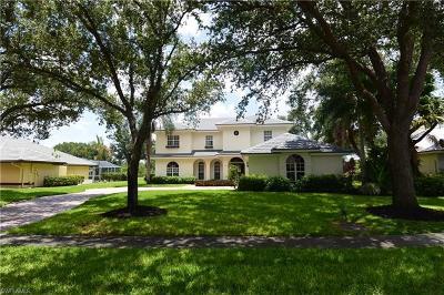 Naples Single Family Home For Sale: 200 Silverado Dr