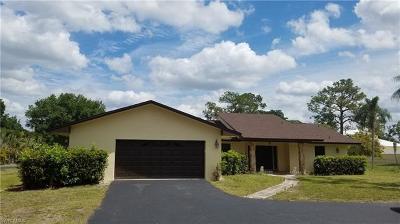 Naples Single Family Home For Sale: 1011 Saint Clair Shores Rd