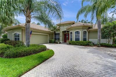 Naples Single Family Home For Sale: 4980 Rustic Oaks Cir