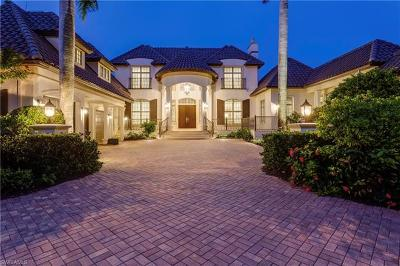 Naples FL Single Family Home For Sale: $6,900,000