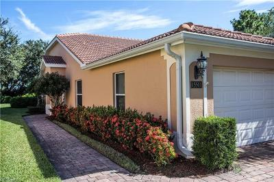 Naples Single Family Home For Sale: 15501 Cortona Way