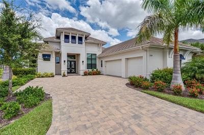Naples Single Family Home For Sale: 3119 Malaga Ln