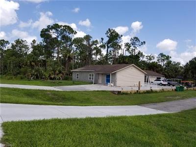 Naples Single Family Home For Sale: 3871 White Blvd
