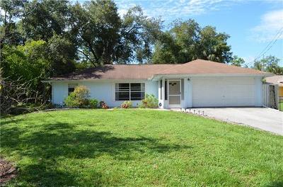 Naples Single Family Home For Sale: 3470 White Blvd