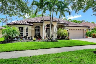 Naples Single Family Home For Sale: 14860 Indigo Lakes Cir
