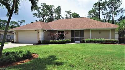 Naples Single Family Home For Sale: 4412 Lorraine Ave