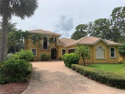 Naples Single Family Home For Sale: 15488 Whitney Ln