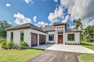Naples Single Family Home For Sale: 2160 Randall Blvd