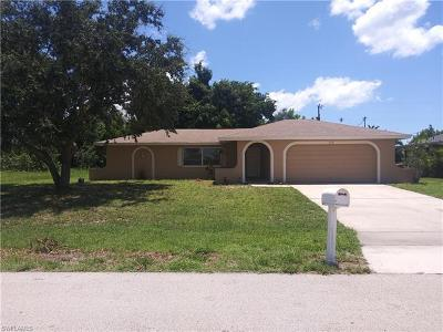 Cape Coral Single Family Home For Sale: 614 SE 33rd Ter
