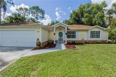 Fort Myers Single Family Home For Sale: 15780 Cemetery Rd