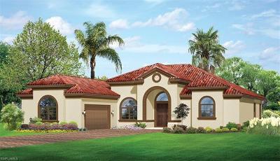 Naples Single Family Home For Sale: 1455 Mockingbird Dr