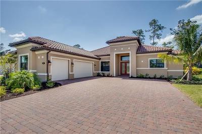 Naples Single Family Home For Sale: 1451 Mockingbird Dr