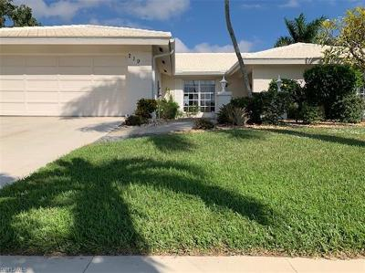 Marco Island Single Family Home For Sale: 219 Geranium Ct