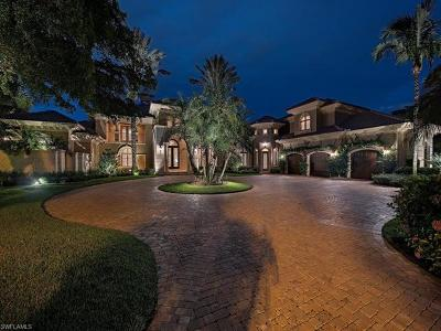 Naples FL Single Family Home For Sale: $6,975,000