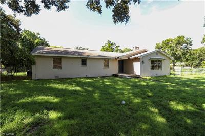 Fort Myers Single Family Home For Sale: 1206 Shadow Ln