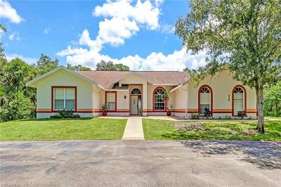 Naples Single Family Home For Sale: 648 NW 15th St