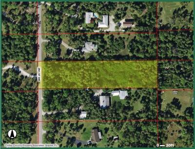 Naples Residential Lots & Land For Sale: 000 SW 29th St