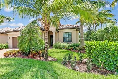 Naples Single Family Home For Sale: 3021 Aviamar Cir
