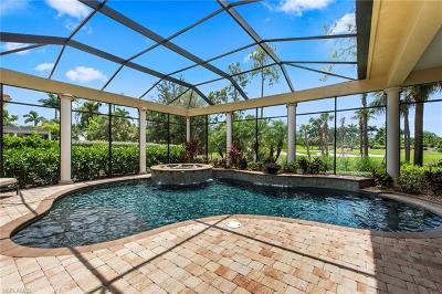 Naples Single Family Home For Sale: 3720 Mahogany Bend Dr