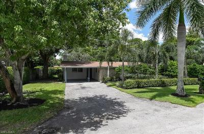 Naples Single Family Home For Sale: 795 Anderson Dr