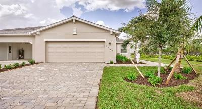 Fort Myers Single Family Home For Sale: 3609 Crimson Ln