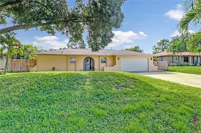 Fort Myers Single Family Home For Sale: 17441 Homewood Rd