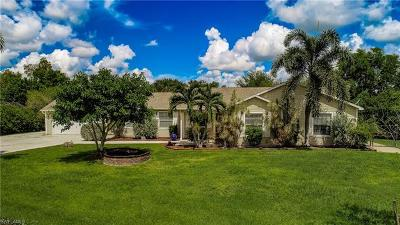 Fort Myers Single Family Home For Sale: 17350 Knight Dr