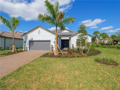 Naples Single Family Home For Sale: 3221 Quilcene Ln