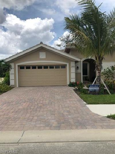 Fort Myers Single Family Home For Sale: 15210 Cortona Way