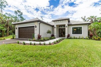 Naples Single Family Home For Sale: 820 NW 20th Ave