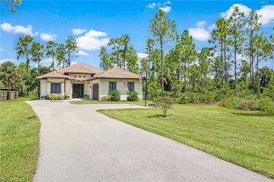 Naples Single Family Home For Sale: 3841 NE 10th Ave