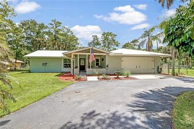 Naples Single Family Home For Sale: 1840 SW 23rd St
