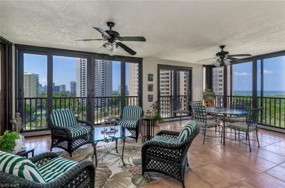 Condo/Townhouse For Sale: 5601 Turtle Bay Dr #701