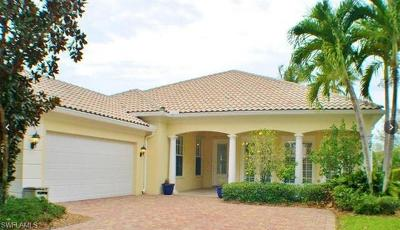 Naples Single Family Home For Sale: 2900 Hatteras Way