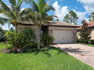 Naples Single Family Home For Sale: 14458 Tuscany Pointe Trl
