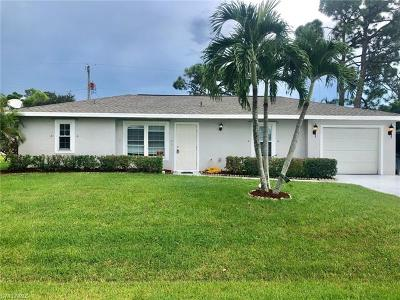 Fort Myers Single Family Home For Sale: 17417 Missouri Rd