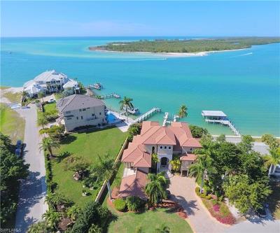 Naples Single Family Home For Sale: 2 Dolphin Cir