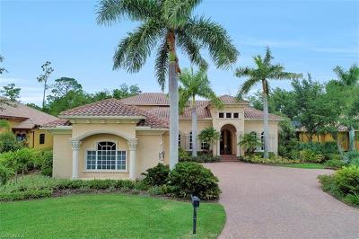 Naples Single Family Home For Sale: 3040 Mona Lisa Blvd