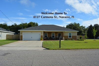 Navarre Single Family Home For Sale: 8127 Carmona Street