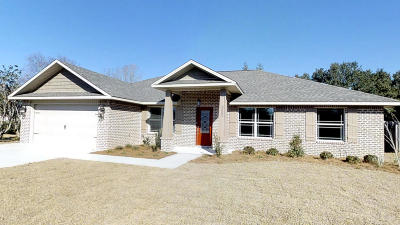 Gulf Breeze Single Family Home For Sale: 3502 Sycamore Lane