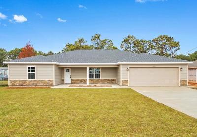 Navarre FL Single Family Home For Sale: $262,000
