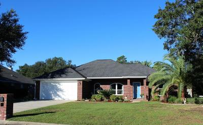 Navarre Single Family Home For Sale: 2629 Barefoot Creek Circle