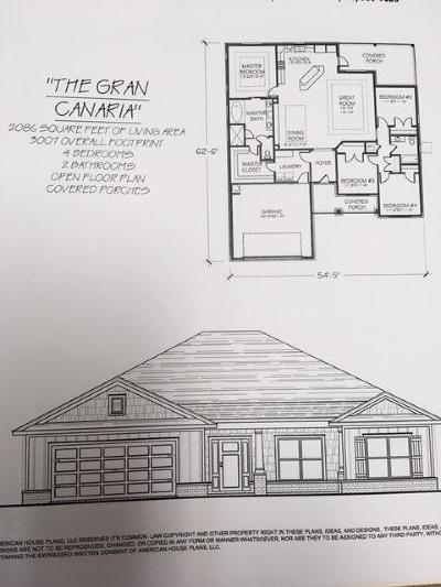 Navarre FL Single Family Home For Sale: $287,500