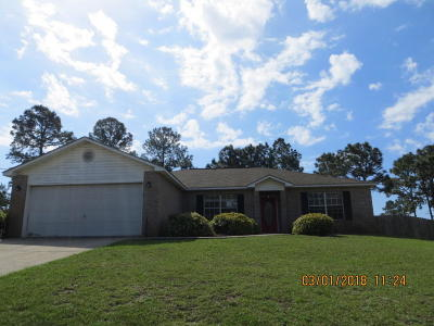 Navarre FL Single Family Home For Sale: $194,500