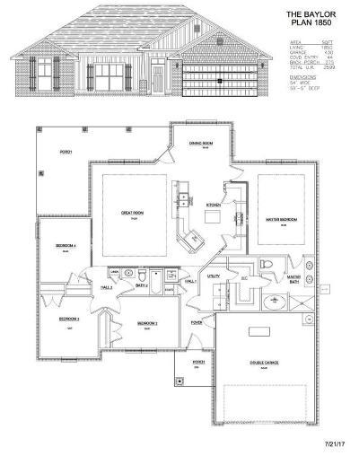 Navarre FL Single Family Home For Sale: $250,211