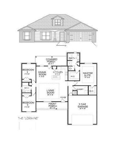 Navarre FL Single Family Home For Sale: $233,350