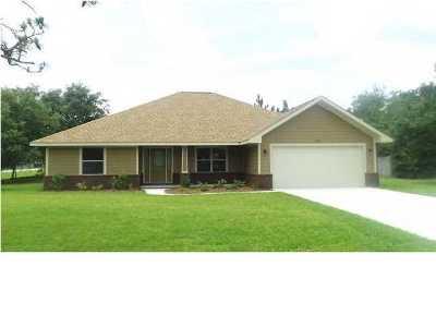 Navarre FL Single Family Home For Sale: $319,000