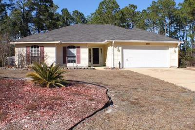 Navarre FL Single Family Home For Sale: $199,500