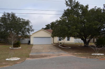 Navarre FL Single Family Home For Sale: $169,900