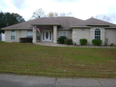 Cantonment Single Family Home For Sale: 1841 Shady Creek Drive